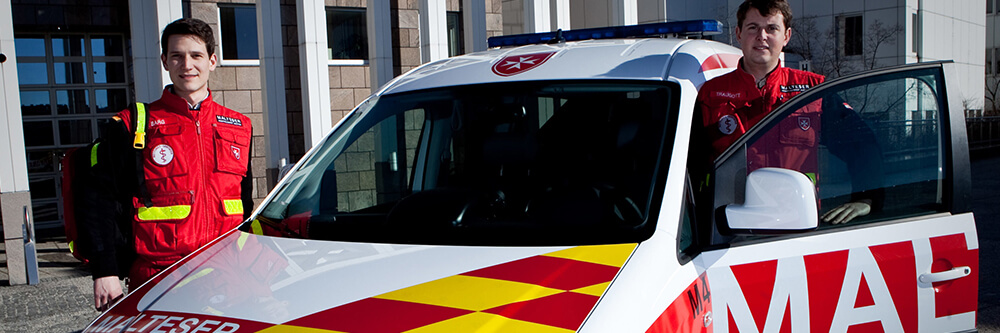 Ärztefunkdienst Malteser MHDA Auto