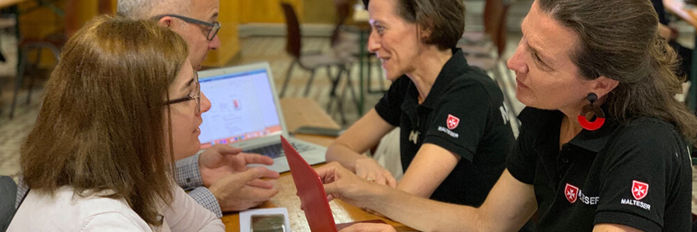 Malteser Deutschkurs Veranstaltung MHDA Integrationshilfe