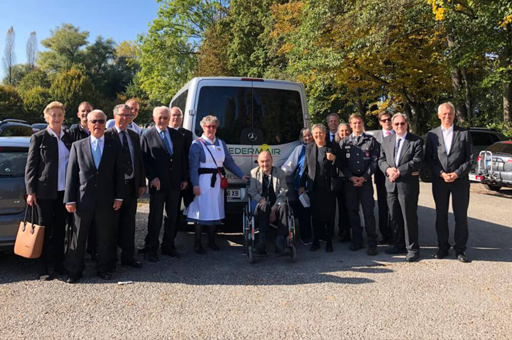Malteser Tirol_Der Arlberg darf uns nicht trennen Ausflug Delegation SMRO MHDA
