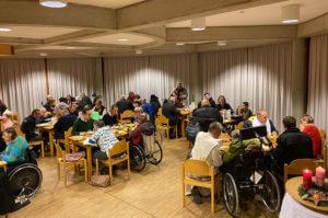 Weihnachtsfeier Kranebiten Malteser Tirol Veranstaltung MHDA