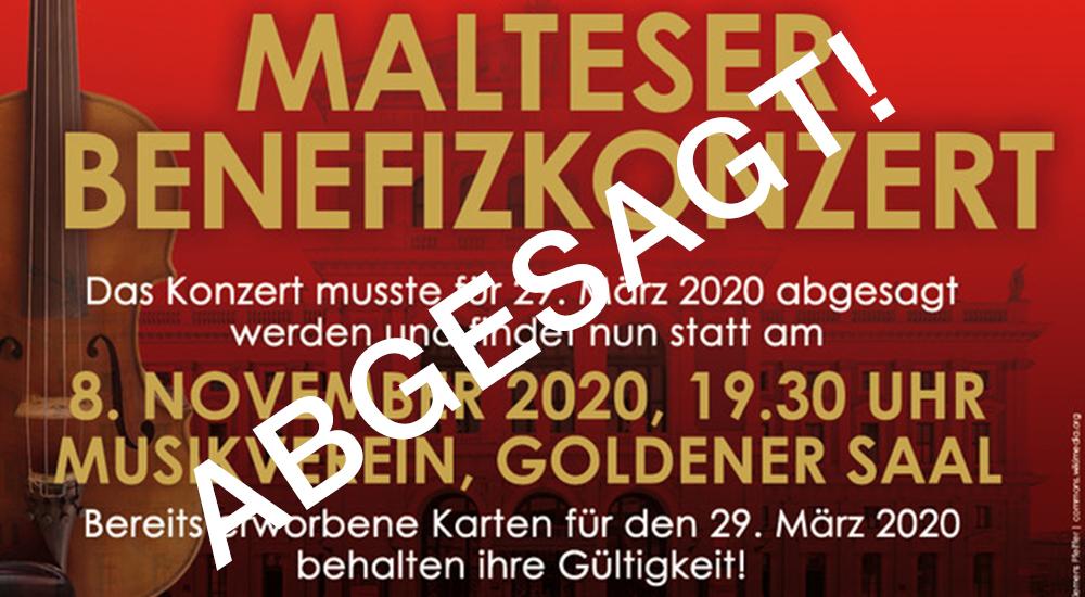 Benefizkonzert BB 20201108 Absage