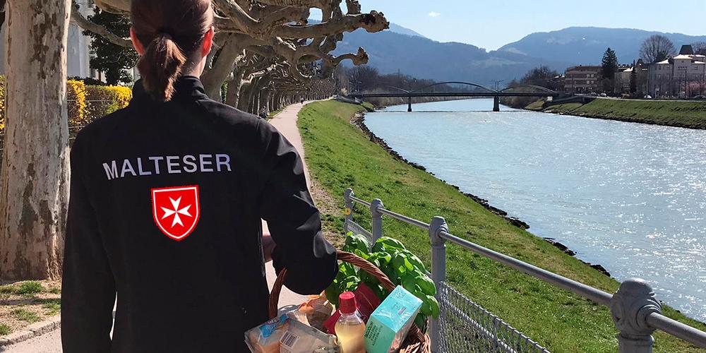 Malteser Salzburg Einkaufsdienst Lieferservice BB NEU