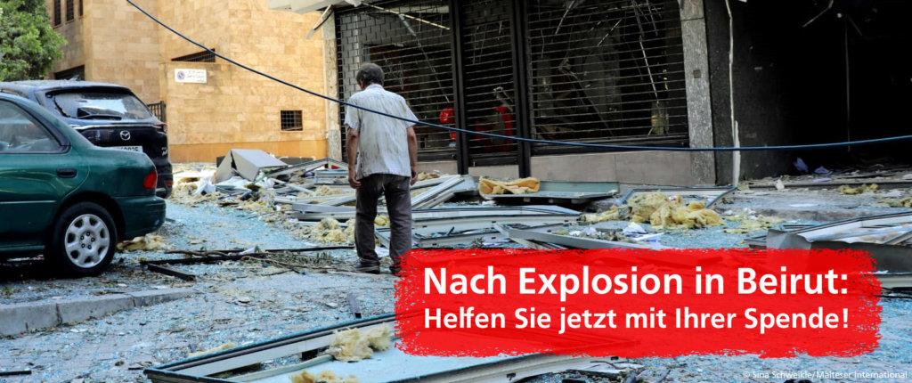 Beirut Explosion Banner 2