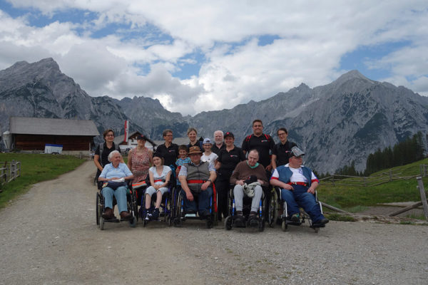 Malteser Tirol Rollywanderung Walderalm 20200628 3