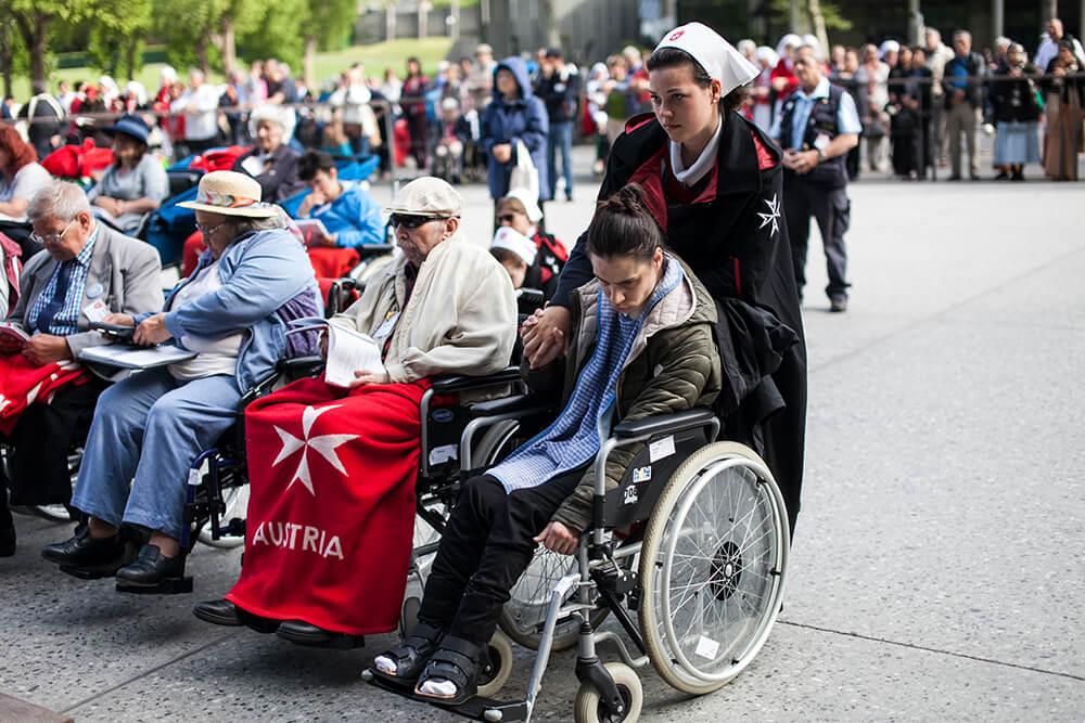 Malteser Wien virtuelle Strasa 2020 Lourdes