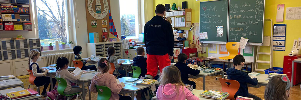 Malteser Steiermark Unterstuetzung Coronatests Schulstart BB