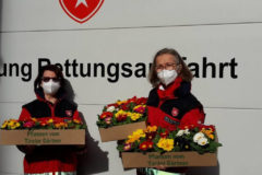 Malteser Tirol Blumengruss fuer Betreute 3