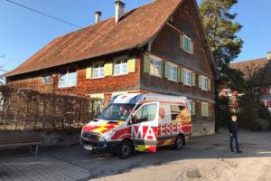 Malteser Tirol Blumengruss fuer Betreute Vorarlberg 1