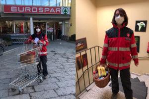 Malteser Tirol Einkaufsdienst Wocheneinkauf 2