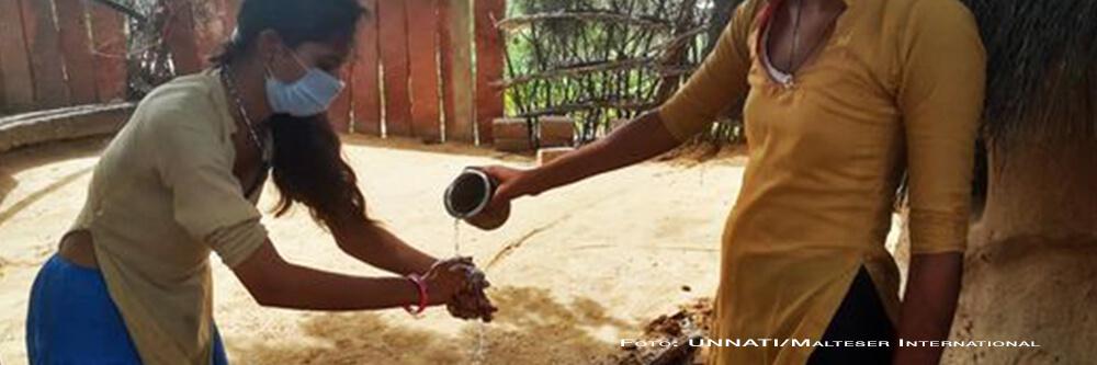 Malteser International Corona Nothilfe Indien BB
