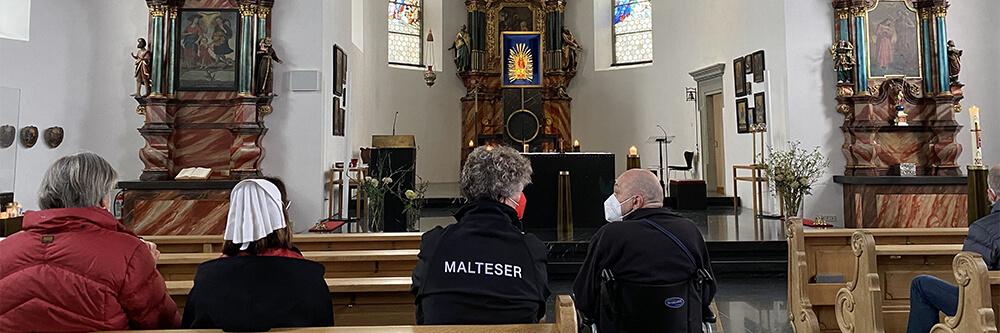 Malteser Tirol Vorarlberg Ausflug Maria Bildstein BB