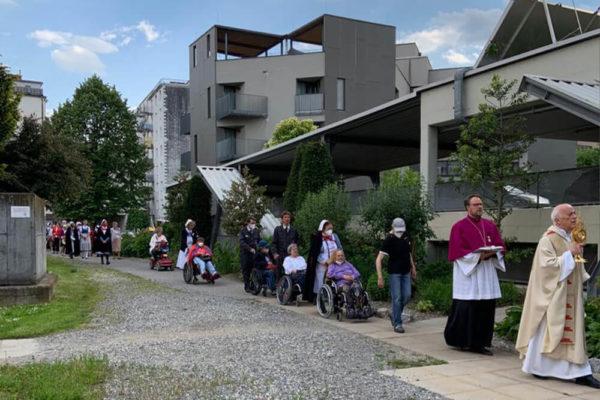 Malteser Steiermark Fronleichnam Prozession 1