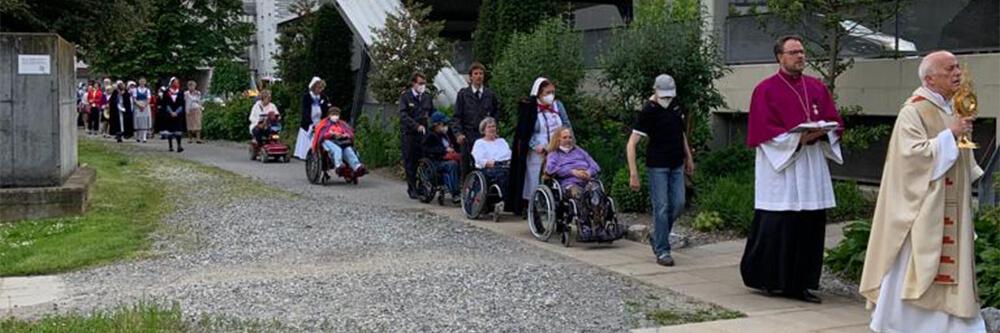 Malteser Steiermark Fronleichnam Prozession BB