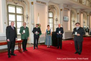 Malteser Steiermark Goldenes Ehrenzeichen Muhri Winfried 2