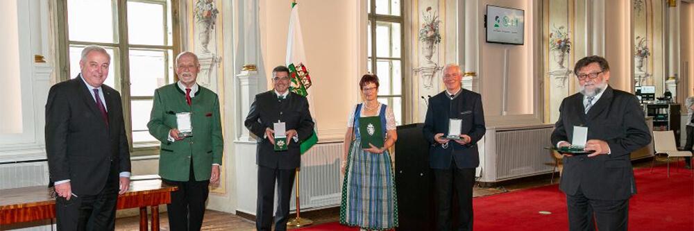 Malteser Steiermark Goldenes Ehrenzeichen Muhri Winfried BB