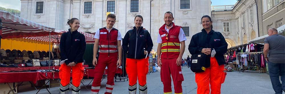 Malteser Salzburg Ambulanzdienst Messe BB